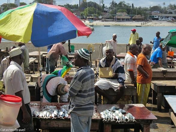 Kivukoni Fishing Market in Dar es Salaam