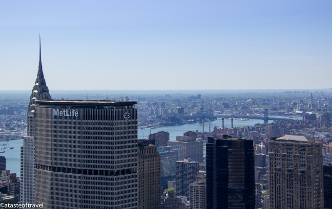 View from the Top of the Rock, New Yok