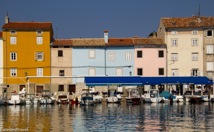 The coloured houses of Cres