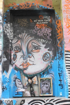 Art in the Laneways