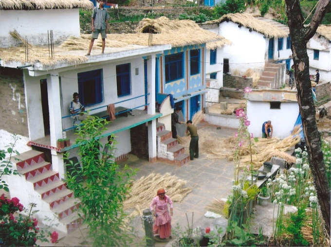 Village home in Deora, Kumaon Valley