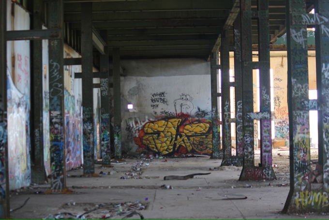 Street Art at the South Fremantle Power Station