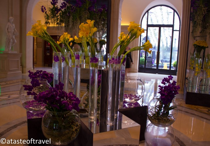 Flowers at the Hotel George V, 2012