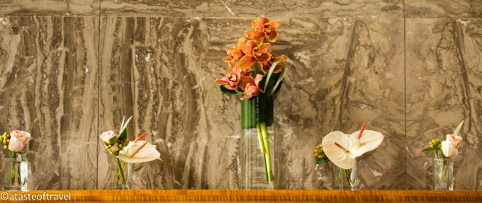 Flowers at Eleven Madison Park, New York