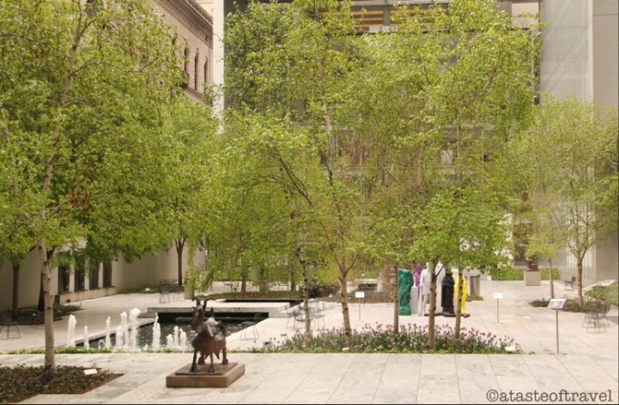 Courtyard at the Museum of Modern Art, New York