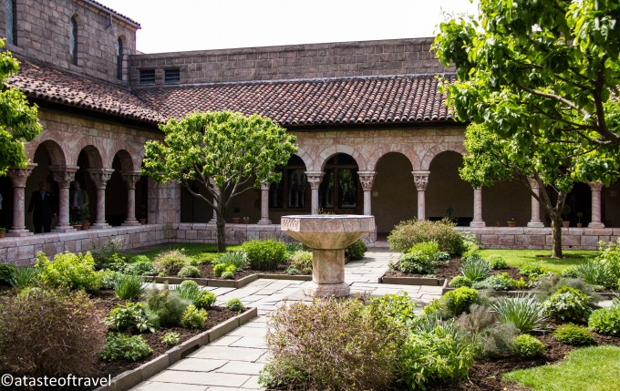 The Cuxa Cloister and Gardens at the Cloisters Museum, New York