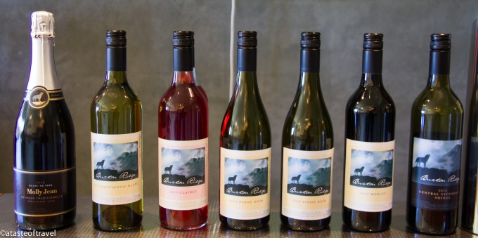 Buxton ridge wines