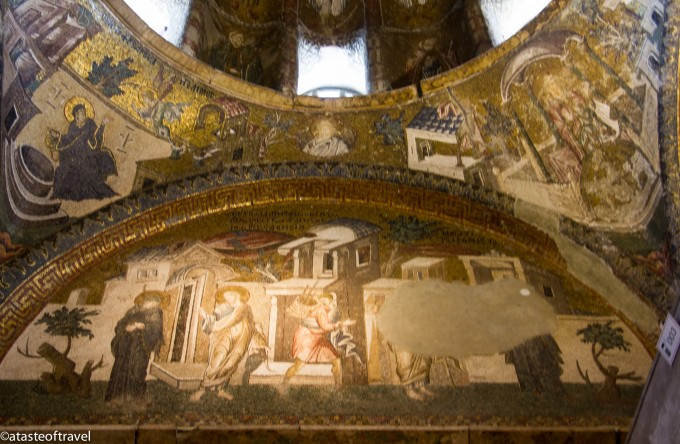 Mosaics in the Chora Museum, Istanbul
