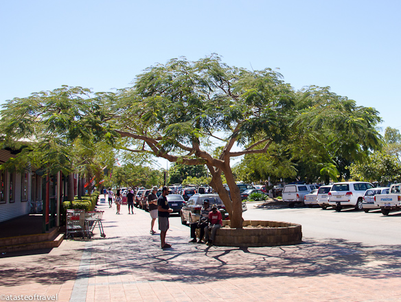 Main Street of Broome
